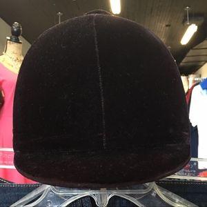 Vintage English, Equestrian Riding Helmet, Black